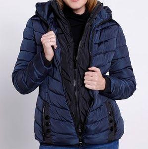 Classic puffer coat
